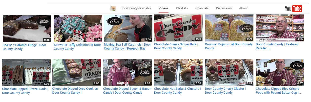 DC Candy Youtube Thumbs