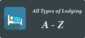 All Types of Lodging A - Z