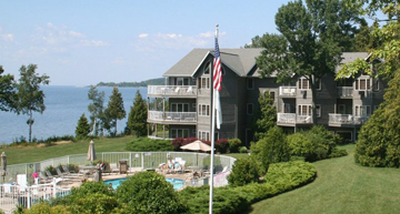 Sturgeon Bay lodging, Bay Shore Inn, Door County