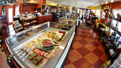 Door County Deli interior in Egg Harbor Wi