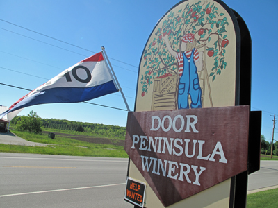 Door Psninsula Winery Sign 2017