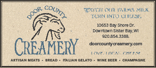 Door County Creamery logo in Sister Bay Wi
