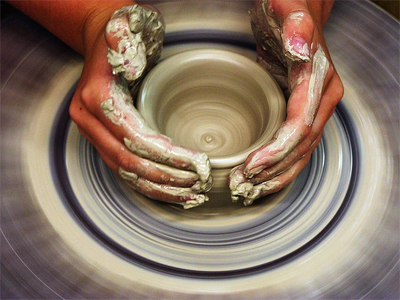 Hands On Art Studio Throwing Pot 2017