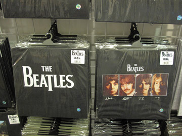 MAde in Britain Beatles shirts