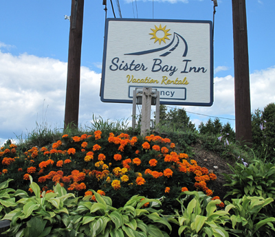 Sister Bay Inn Sign