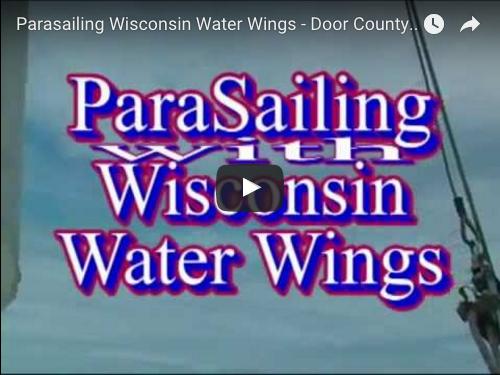 Parasailing Wisconsin Water Wings Door County Wi Door