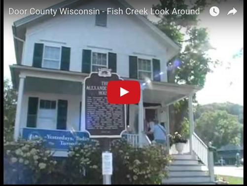 Door County Wisconsin Fish Creek Look Around Door