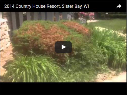 Country House Resort Featured Video Sister Bay Wi Door County
