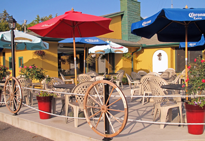 Arroyo Bay Grill Outdoor patio in Fish Creek Wi