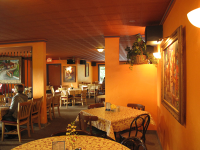 Arroyo Bay Grill dining room in Fish Creek Wi