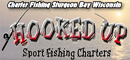 Hooked Up Sport Fishing Banner