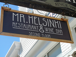 Mr Helsinki sign REVIEW