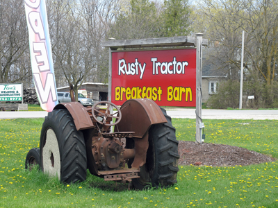 Rustry Tractor Breakfast Barn