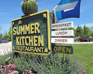 Summer Kitchen Sign 2