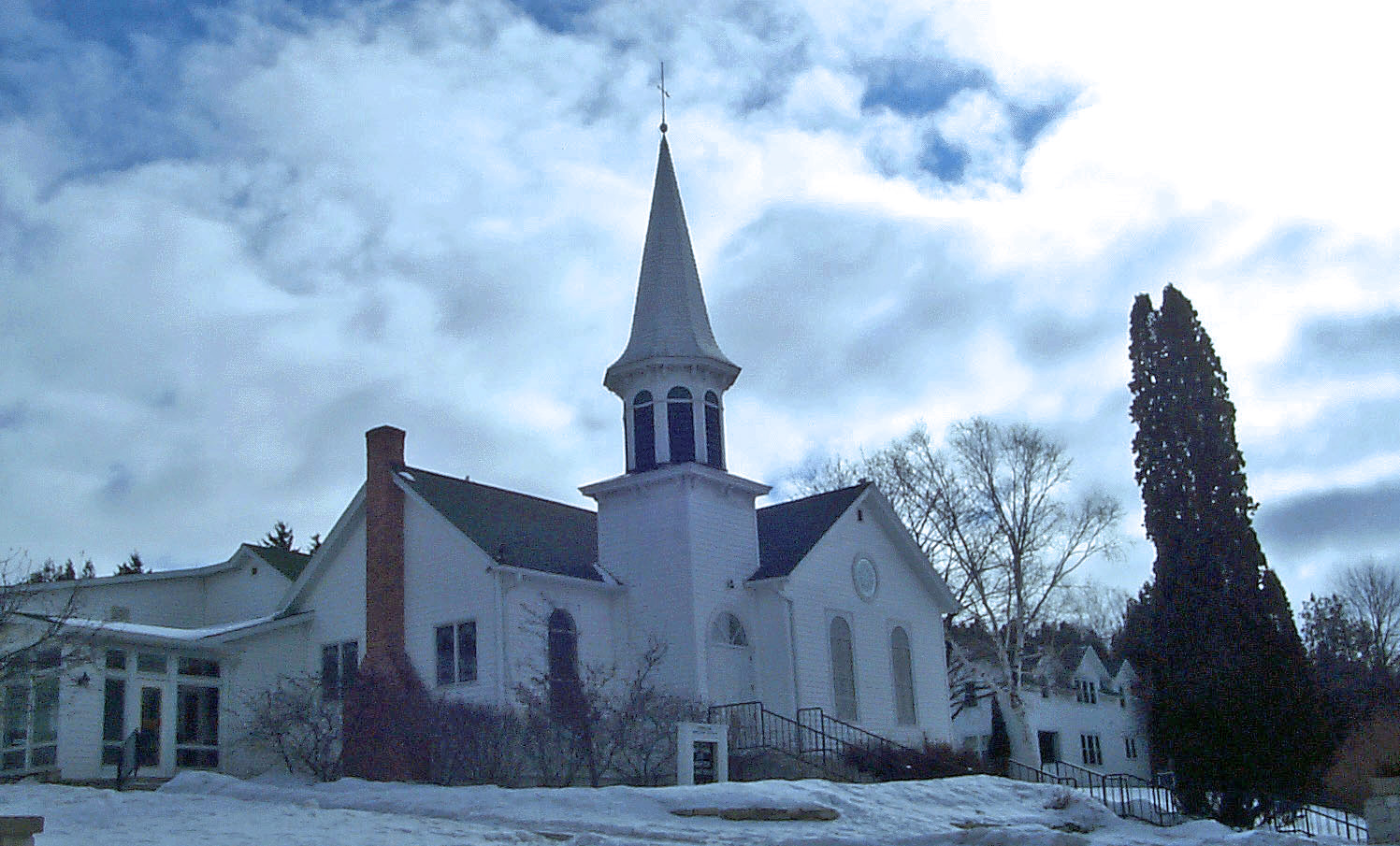 Ephraim Church winter Scene USE 2