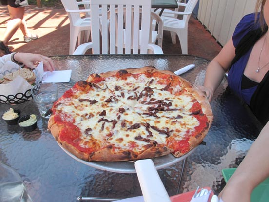 Pizza in Fish Creek