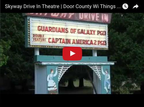Skyway Drive In Theatre Door County Wi Things To Do