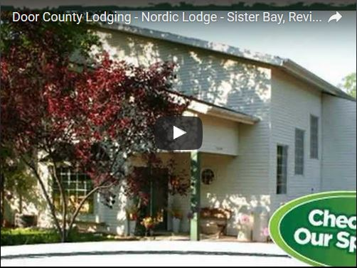 Door County lodging review Nordic Lodge in Sister Bay Wisconsin - one of Door County\u0027s great places to stay! And tell them that DoorCountyNavigator.com ... & Nordic Lodge - Sister Bay Review - YouTube - Door County Navigator